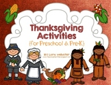 Thanksgiving Activities for Preschool and Pre-K