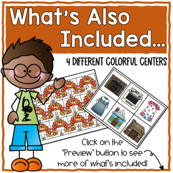 Thanksgiving Activities for Primary Students