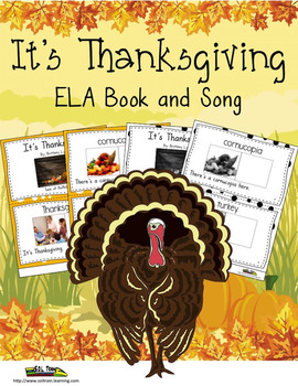 Thanksgiving Activities for the Present Interactive Book and Song