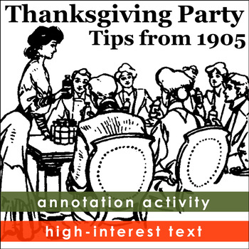 Thanksgiving Activities from History