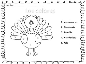 thanksgiving activities in spanish by disover and play en espanol. Black Bedroom Furniture Sets. Home Design Ideas