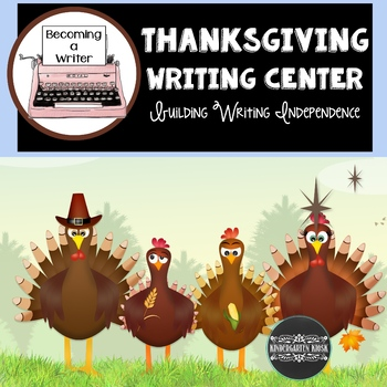 Thanksgiving Theme Independent Writing Practice