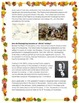Thanksgiving Activity // ALL ABOUT THANKSGIVING // History