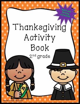 Thanksgiving Activity Book