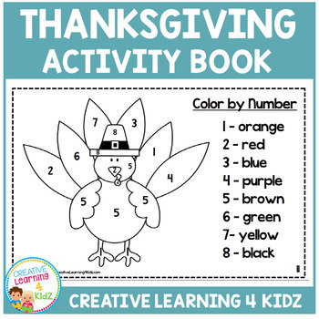 Thanksgiving Activity Book