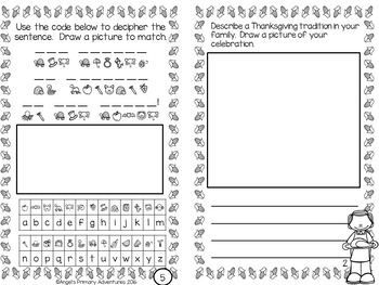Thanksgiving Activity Booklet