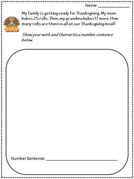 Thanksgiving Activity Bundle