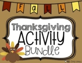 Thanksgiving Activity Bundle