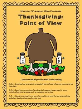 Thanksgiving Activity Bundle -- Fifth-Grade Common Core Aligned