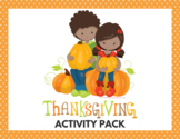Thanksgiving Activities + Memory Game
