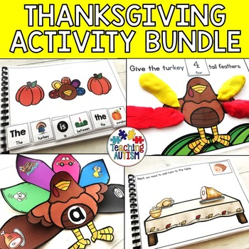 Thanksgiving Activity Bundle, Thanksgiving Unit