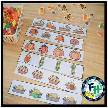 Thanksgiving Activity Center | Attribute Find-It