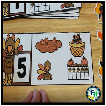 Thanksgiving Activity Center | Number 1 to 10 Cover