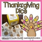 Thanksgiving Activity [Dice Questions]