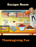 Thanksgiving Activity Escape the Room Google Mystery