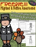 Thanksgiving Activities {FREE Pilgrims & Native Americans Informational Texts}