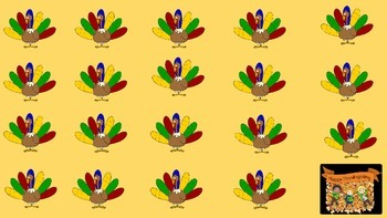 Thanksgiving Activity/Lesson Template