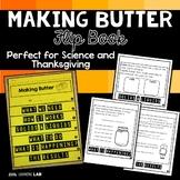 Thanksgiving Activity Making Butter Flip Book