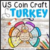 Thanksgiving Activity | Money Craft | Turkey