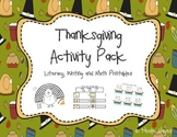 Thanksgiving Activity Pack!