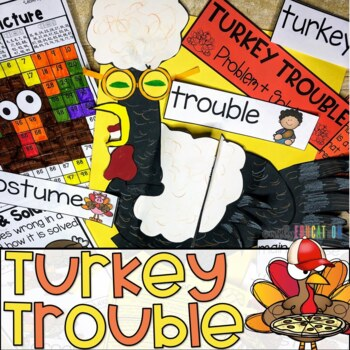 Thanksgiving Activity Pack {Emily Education}