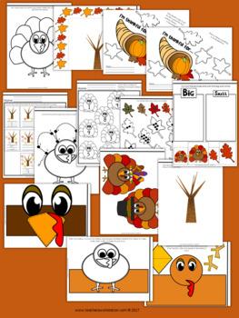 Thanksgiving Activity Pack (Kindergarten & Pre-K)