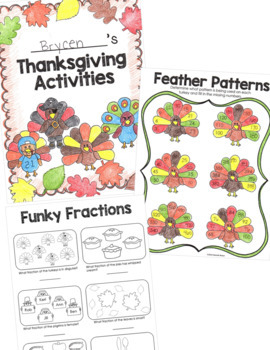 Thanksgiving Activities Packet for 3rd Grade