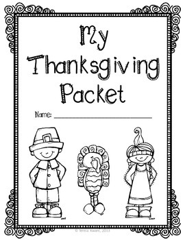 Thanksgiving Activity Packet Grades 3-6