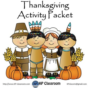 Thanksgiving Activity Packet and Worksheets