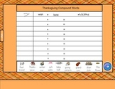 Thanksgiving Activity Packet for SmartBoard