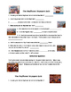 Thanksgiving Activity:  Peanuts Mayflower Voyagers Quiz