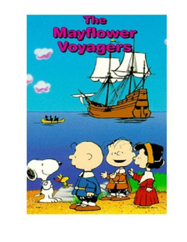 Thanksgiving Activity:  Peanuts Mayflower Voyagers Quiz