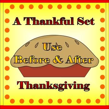 Thanksgiving Activity Sheets