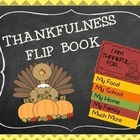 Thanksgiving Activity, Thanksgiving Flip Book, Thankfulness Activity: FlipBook