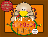 Thanksgiving Activity: Turkey Alphabet Hunt Game