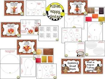 Thanksgiving Activity ~ Turkey Craftivity Fun!