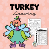 Thanksgiving Activity: Turkey Drawing and Hand Turkey with