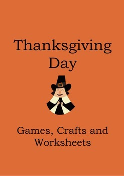 Thanksgiving Activity Worksheets