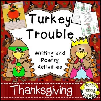 Thanksgiving Activity ~ Turkey Trouble