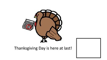 Thanksgiving Adapted Book