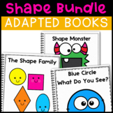 Shape Bundle: 3 Shape Adapted Books for Students with Autism & Special Needs