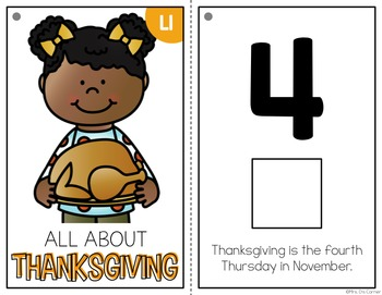 Thanksgiving Adapted Book { Level 1 and Level 2 } History of Thanksgiving
