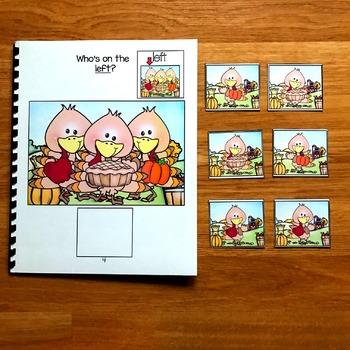 Thanksgiving Adapted Book:  Three Little Turkeys