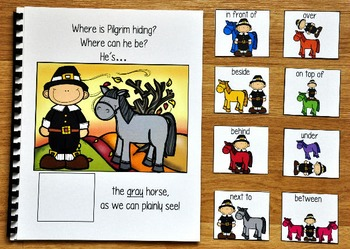 "Thanksgiving Adapted Book:  ""Where Is Pilgrim Hiding?"""