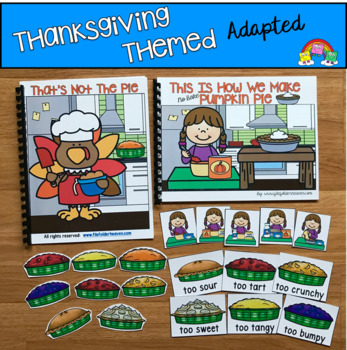 Thanksgiving Adapted Books