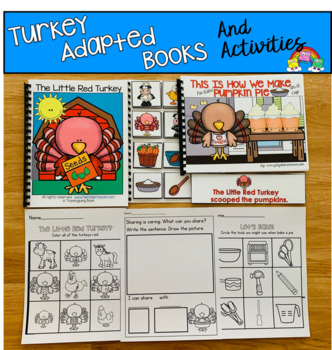 Thanksgiving Adapted Books And Activities