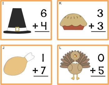 Thanksgiving Add Around The Room Cards