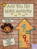 Thanksgiving Add 'Em Up! Math Activity