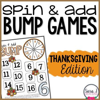 Thanksgiving Addition Games