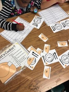 Thanksgiving Math Addition Center